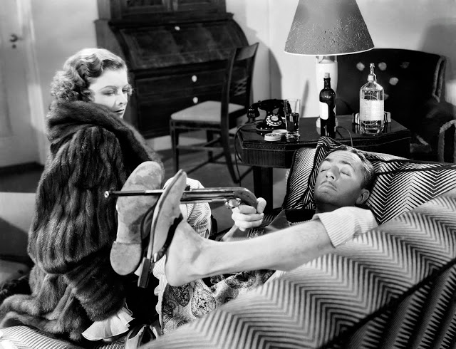 The Thin Man on Christmas morning
